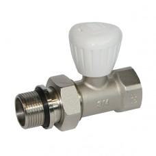 Вентиль радиаторный прямой ручной регулировки 3|4
